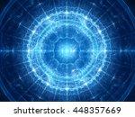 Blue Glowing Magical Genesis I...