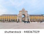 lisbon  portugal   december 26  ...   Shutterstock . vector #448367029