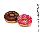 vector illustration of two... | Shutterstock .eps vector #448377499