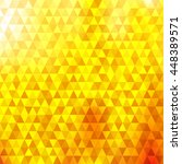 Abstract Triangles Pattern On...