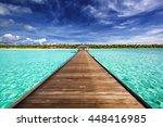maldives | Shutterstock . vector #448416985