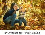 outdoor portrait of a young...   Shutterstock . vector #448435165