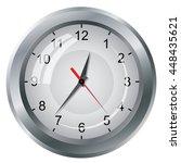 image clock dial. scheme...   Shutterstock .eps vector #448435621