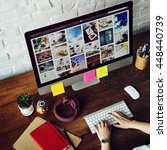 ideas creative occupation...   Shutterstock . vector #448440739