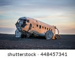 The Abandoned Dc 3 Airplane On...