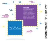 abstract concept vector empty... | Shutterstock .eps vector #448485499