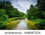 The Nashua River At Mine Falls...