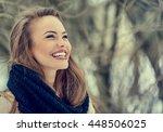 Beautiful Smiling Young Woman...