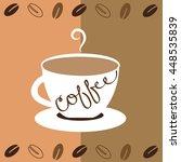 mug of coffee | Shutterstock . vector #448535839