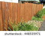 hard landscaping   timber... | Shutterstock . vector #448535971