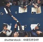 business meeting team... | Shutterstock . vector #448539349