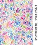 seamless modern abstract... | Shutterstock . vector #448549375