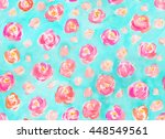 seamless shabby chic  girly...   Shutterstock . vector #448549561