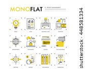 infographics icons collection...   Shutterstock .eps vector #448581334