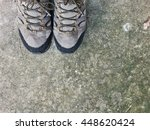 Hiking Boots With Copyspace