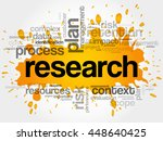 research word cloud collage ... | Shutterstock .eps vector #448640425