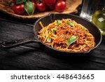 Traditional Spaghetti Bolognese