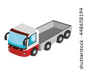 vehicle transport isolated icon ... | Shutterstock .eps vector #448658194