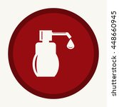 liquid soap icon | Shutterstock .eps vector #448660945