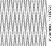black seamless wavy line...   Shutterstock .eps vector #448687204