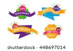 vector collection of bright...   Shutterstock .eps vector #448697014