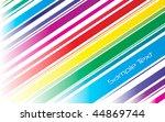 retro spectrum stripes...