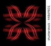 elegant design striped...   Shutterstock . vector #44869831