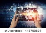 media user interface   Shutterstock . vector #448700839