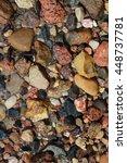 stones in water background   Shutterstock . vector #448737781