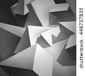 geometric shapes  a lot of... | Shutterstock .eps vector #448737835