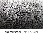 drops of dew on the window glass | Shutterstock . vector #44877034