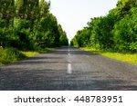 The Road Made Of Asphalt  Goes...