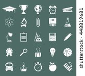 elements and objects education  ... | Shutterstock .eps vector #448819681