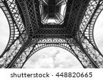 Monochrome Under The Eiffel...