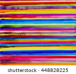 abstract colorful watercolor... | Shutterstock . vector #448828225