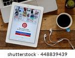 chiangmai  thailand  july 05... | Shutterstock . vector #448839439