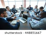 business meeting | Shutterstock . vector #448851667