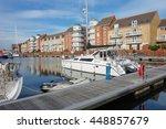 eastbourne  england   july 6.... | Shutterstock . vector #448857679
