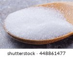 erythritol on spoon selective... | Shutterstock . vector #448861477