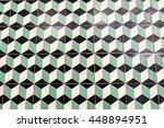 brick wall construction grunge... | Shutterstock . vector #448894951