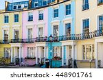Colourful English Terraced...