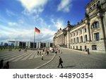 berlin reichstag | Shutterstock . vector #44890354