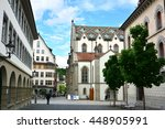 old town in st. gallen ... | Shutterstock . vector #448905991