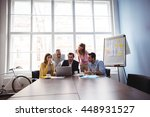 business people in meeting room ... | Shutterstock . vector #448931527