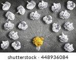 in search of great idea | Shutterstock . vector #448936084