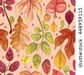 autumn seamless background.... | Shutterstock .eps vector #448959115