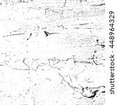 distress grainy dust overlay... | Shutterstock .eps vector #448964329
