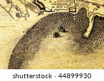 an antique map background for...   Shutterstock . vector #44899930