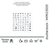 technology icons | Shutterstock .eps vector #449015035