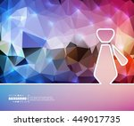abstract creative concept... | Shutterstock .eps vector #449017735